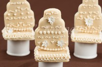 Winter Wedding Cookies