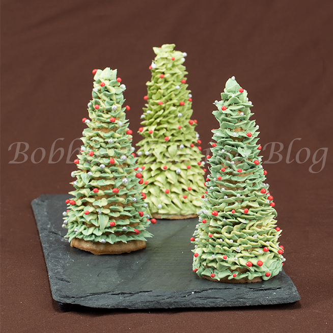 learn to make royal icing christmas trees like ceri d griffiths