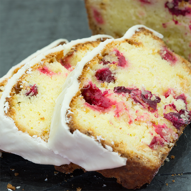christmas cranberry pound cake recipe-tutorial