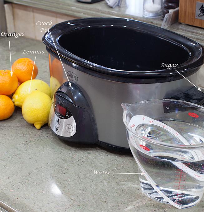 glace fruit oranges & citron recipe