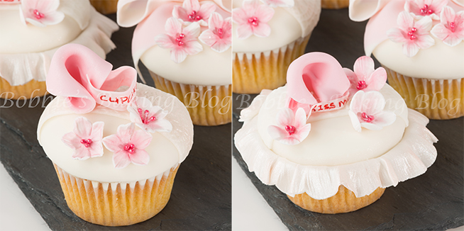 flower paste/gumpaste cherry blossom cupcake tutorial