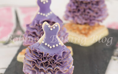 Oscar Inspired Fashion Sugar Cookies