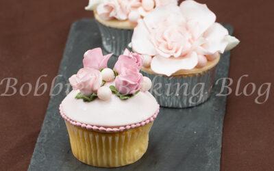 Vintage English Garden Cupcake Video