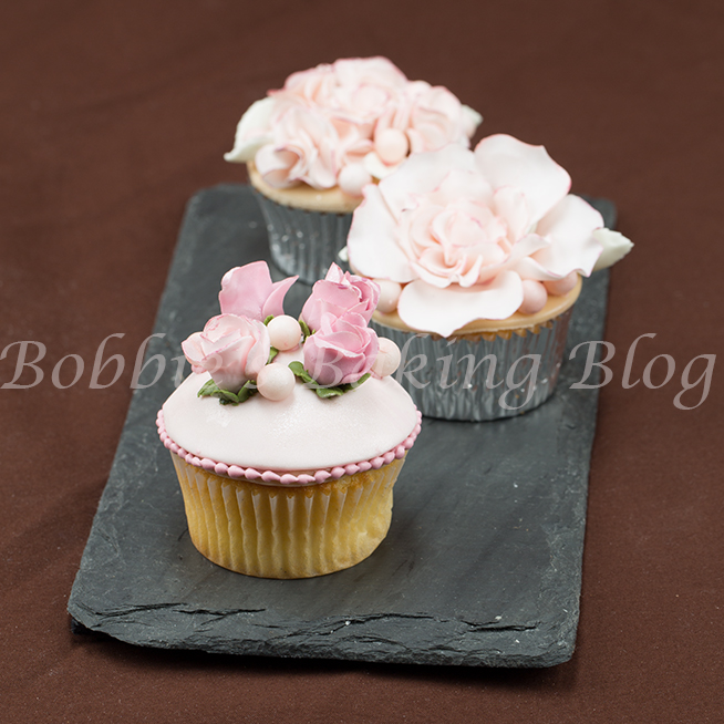 how to create vintage garden cupcakes for a wedding