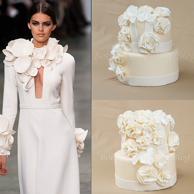 how to make fashion fondant inspired cake