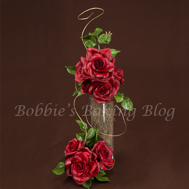 learn cake decorating methods gumpaste flowers with Chef Bobbie