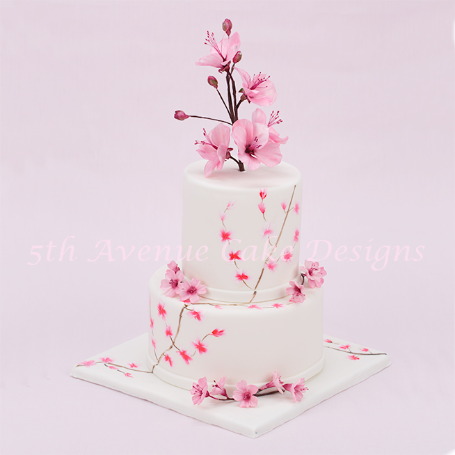 sugar paste cherry blossom tutorial