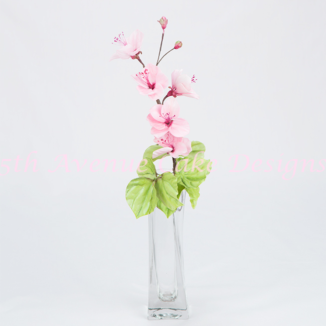 learn how to make gum paste cherry blossom