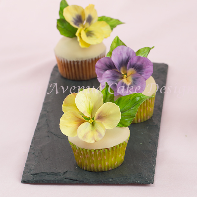 learn how to flower paste pansies