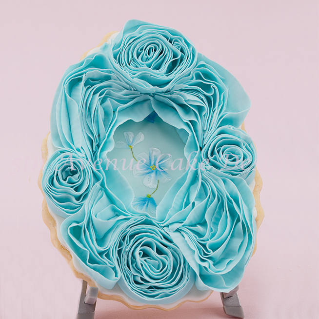 how to paint any flower design on cakes