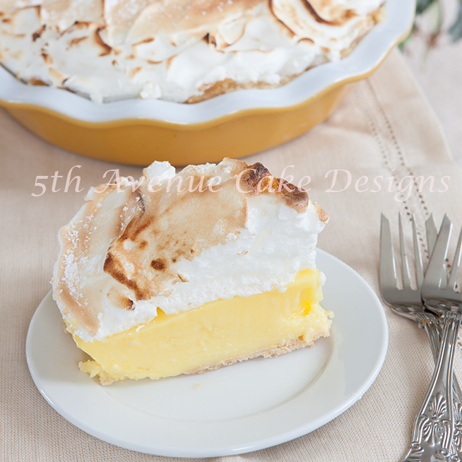 Mother's Day Lemon Meringue Pie