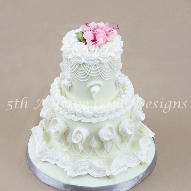 Lambeth method of cake decorating tutorial