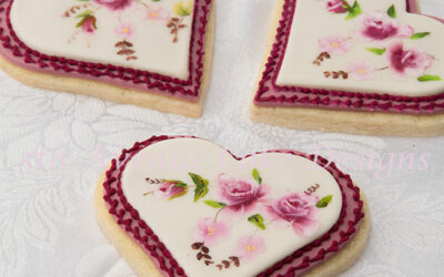 Limoges Inspired Wedding Cookies